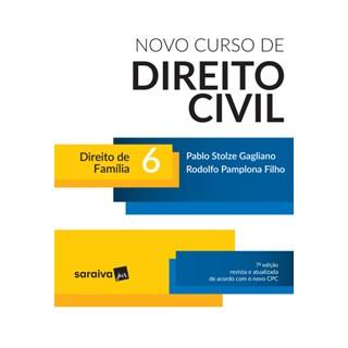 Livro - Novo Curso de Direito Civil - Direito de Família - Vol. 6 - 7ª Ed. 2017 - Gagliano