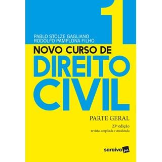 Livro Novo Curso de Direito Civil Vol. 1 - Gagliano - Saraiva