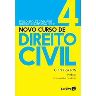 Livro - Novo Curso de Direito Civil Vol 4 - Contratos - 3ª Ed. 2020 - Gagliano 3º edição