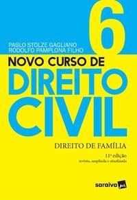Livro Novo Curso de Direito Civil Vol 6 Direito de Familia 10ª E