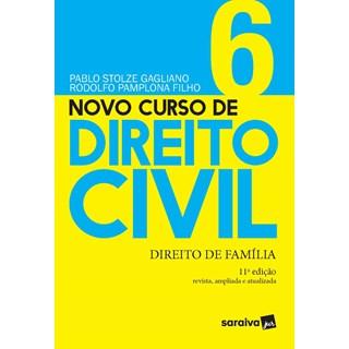 Livro - Novo Curso de Direito Civil Vol 6 - Direito de Família - 10ª Ed. 2020 - Gagliano 10º edição