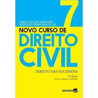 Livro - Novo Curso de Direito Civil Vol 7 - Direito Das Sucessões -7ª Ed. 2020 - Gagliano 7º edição