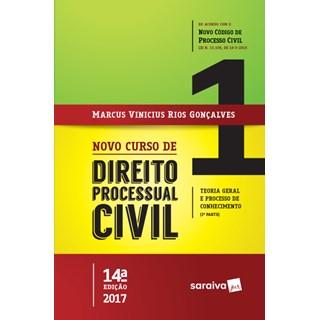 Livro - Novo Curso de Direito Processual Civil - Gonçalves