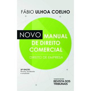 Livro Novo Manual De Direito Comercial - Coelho - Revista dos Tribunais