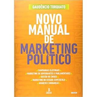 Livro - Novo Manual de Marketing Político - Torquato - Summus