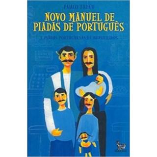 Livro - Novo Manual de Piadas de Português - Tadeu
