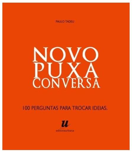 Livro  - Novo Puxa Conversa - Tadeu - Baralho
