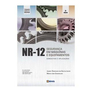 Livro - NR12 - Seguranca Em Maquinas Equipamentos Conceitos Aplicacoes - 2 Ed 2020 - Santos Junior 2