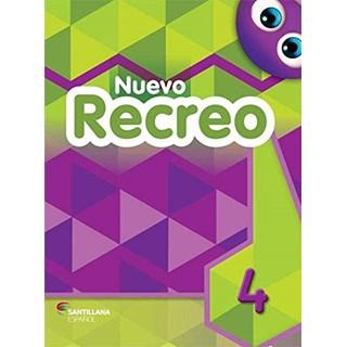 Livro Nuevo Recreo 4 - Amendola - Santillana