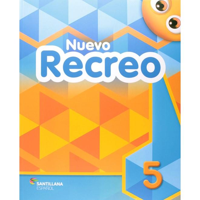 Livro Nuevo Recreo 5 - Amendola - Santillana