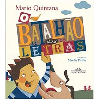 Livro - O Batalhão das Letras - Mario Quintana