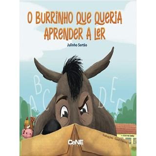 Livro O Burrinho Que Queria Aprender a Ler - Sertão - Cene