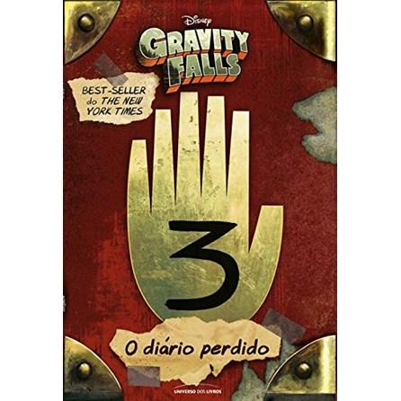 Livro - O Diário Perdido de Gravity Falls Vol 3 - Hirsch