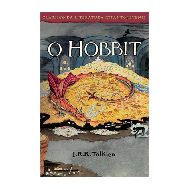 Livro - O Hobbit - Capa Smaug - Tolkien