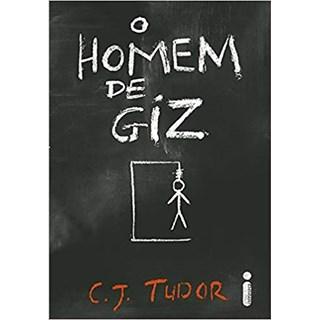 Livro -  O Homem de Giz - Tudor