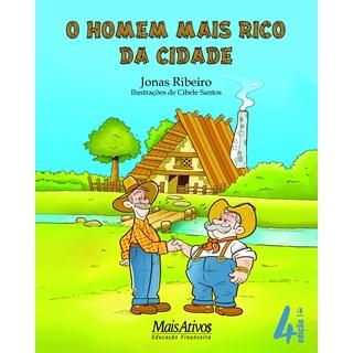 Livro - O Homem Mais Rico da Cidade - Jonas - Mais Ativos
