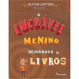 Livro - O Incrível Menino Devorador de Livros - Jeffers