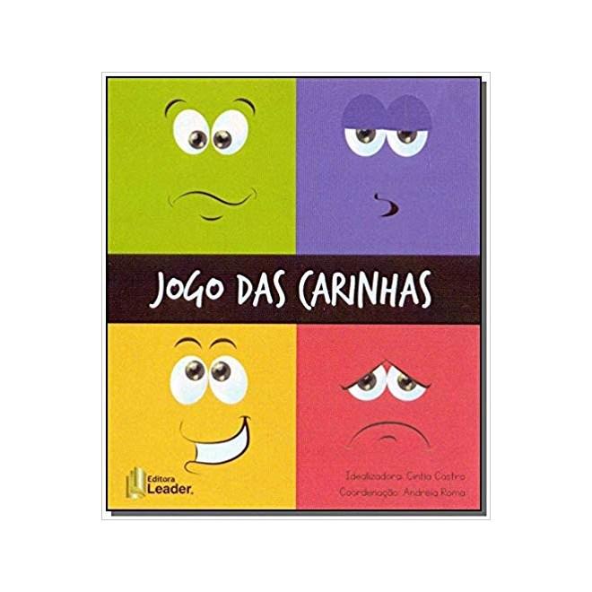 Livro O Jogo Das Carinhas Leader Livraria Florence