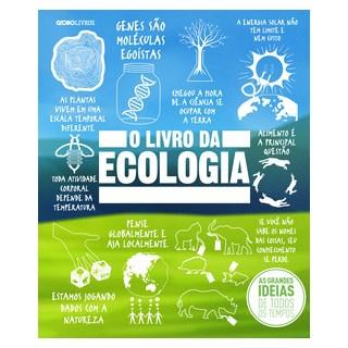 Livro - O Livro da Ecologia - Flávia - Globo