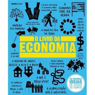 Livro O Livro Da Economia - Globo