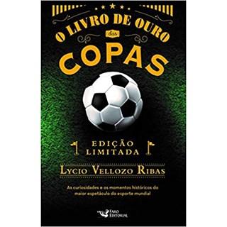 Livro - O Livro de Ouro das Copas - Ribas - Faro