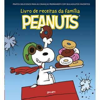 Livro O Livro de Receitas da Família Peanuts - Schulz - Belas Letras