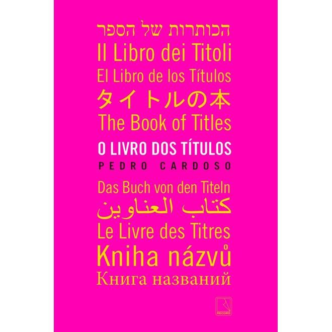 Livro - O Livro dos Títulos - Cardoso