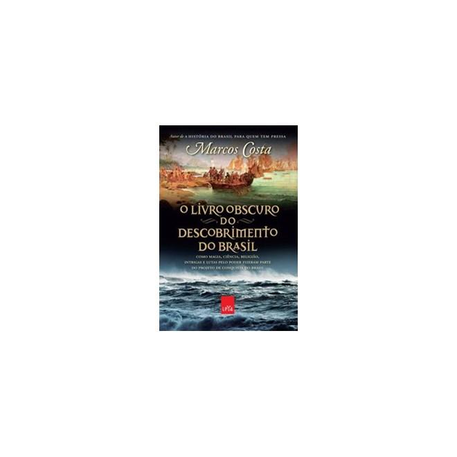 Livro - O livro obscuro do descobrimento do Brasil - Costa 1º edição