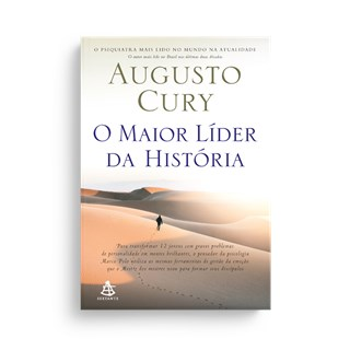 Livro - O Maior Líder da História - Cury - Sextante