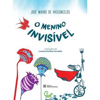 Livro O Menino Invisível - Vasconcelos - Melhoramentos