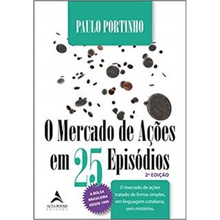 Livro - O Mercado de Ações em 25 Episódios - Portinho