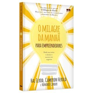 Livro O Milagre da Manhã Para Empreendedores - Herold - Bestseller