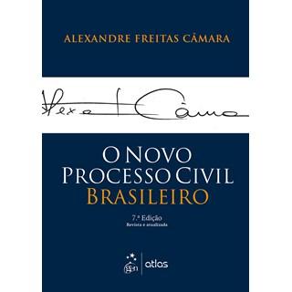 Livro - O Novo Processo Civil Brasileiro - CÂMARA 6º edição