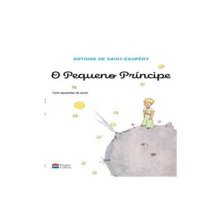 Livro - O Pequeno Principe -  Com Aquarelas do Autor -  Saint-Exupery