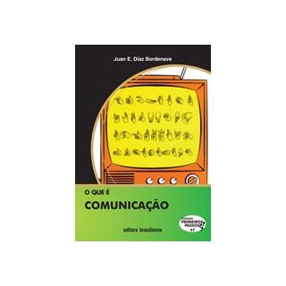 Livro - O Que é Comunicação - Bordenave - Brasiliense