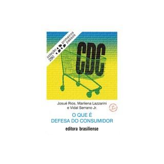 Livro - O Que é Defesa do Consumidor - Lazzarini - Brasiliense