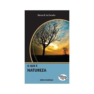Livro - O que é Natureza - Carvalho - Brasiliense