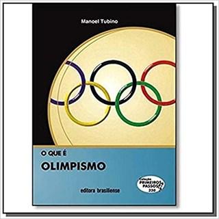 Livro - O que é Olimpismo - Tubino - Brasiliense