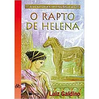 Livro - O Rapto de Helena - Galdino - FTD