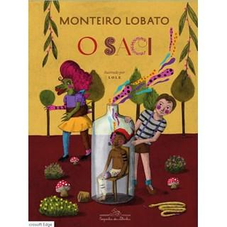 Livro - O Saci - Monteiro Lobato