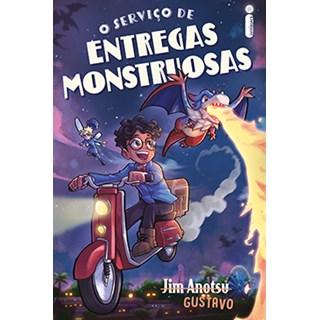 Livro O Serviço de Entregas Monstruosas - Anotsu - Intrínseca