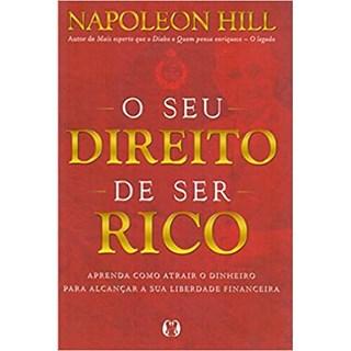 Livro - O Seu Direito de Ser Rico -  Napoleon Hill - Citadel