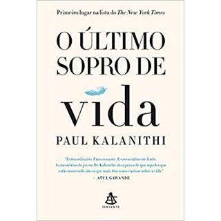 Livro - O Último Sopro de Vida - Kalanithi