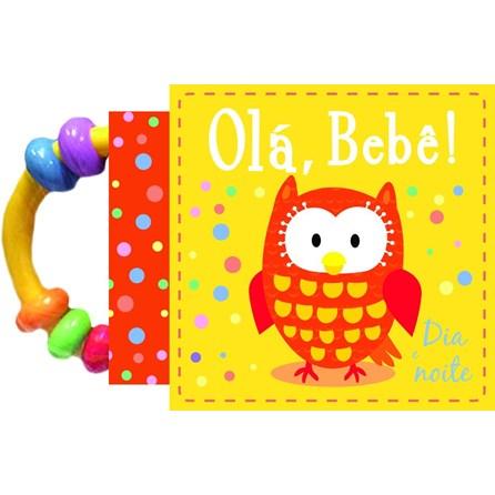 Livro - Olá Bebe - Dia e Noite - Livro de Pano