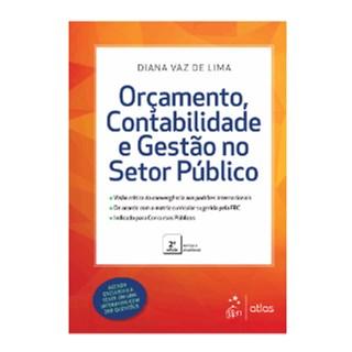Livro - Orçamento, Contabilidade e Gestão no Setor Público - Lima - Pré-venda