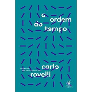 Livro Ordem do Tempo - Rovelli - Objetiva