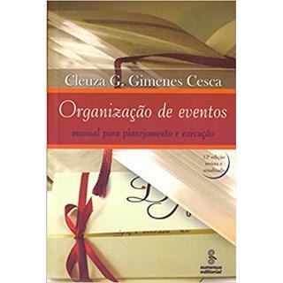 Livro - Organização de Eventos - Cesca - Summus