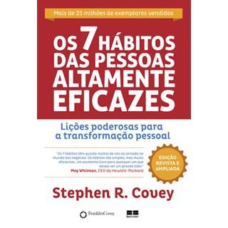 Livro - Os 7 hábitos das pessoas altamente eficazes - Covey