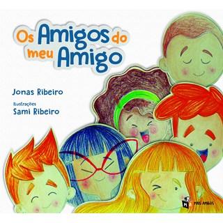 Livro Os amigos do meu amigo - Ribeiro - Mais Amigos