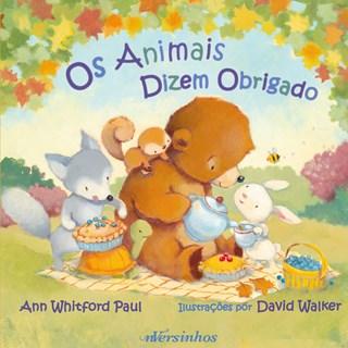 Livro Os Animais Dizem Obrigado - Whitford - Nversos